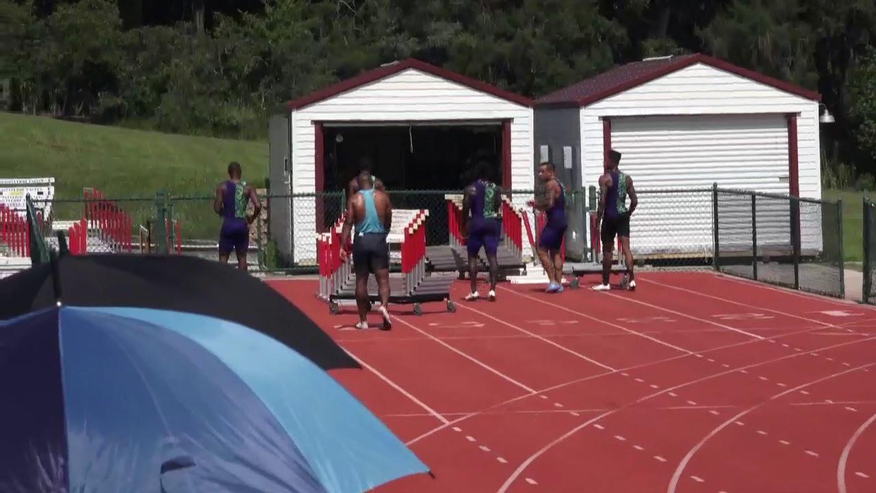 Mens 100 Dash Prelims Heat 1 Star Athletics Sprint Series #2 July 6