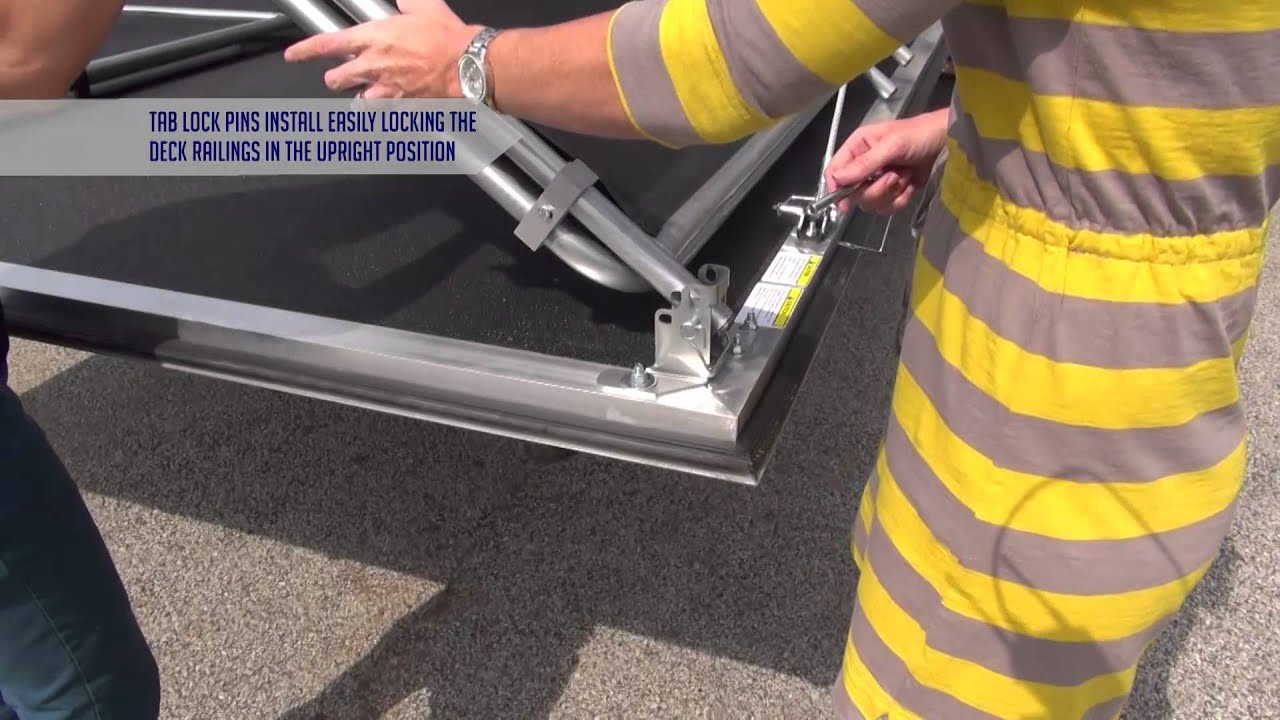 How To Set Up Your Raptor Fuzion Patio Deck Youtube