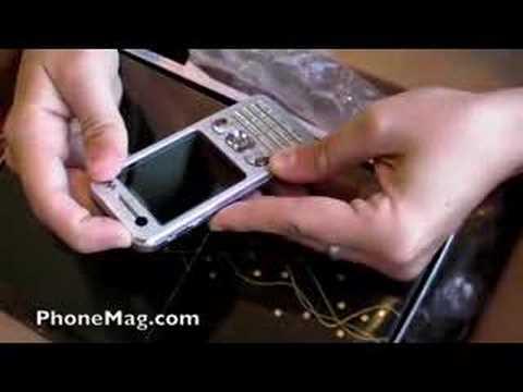 Unboxing Sony Ericsson w890i