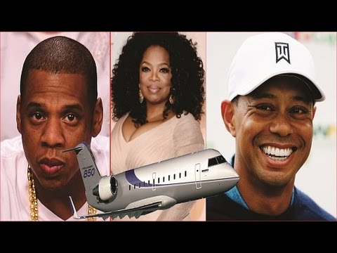 TOP 5 BLACK CELEBRITIES THAT OWNS PRIVATE JET
