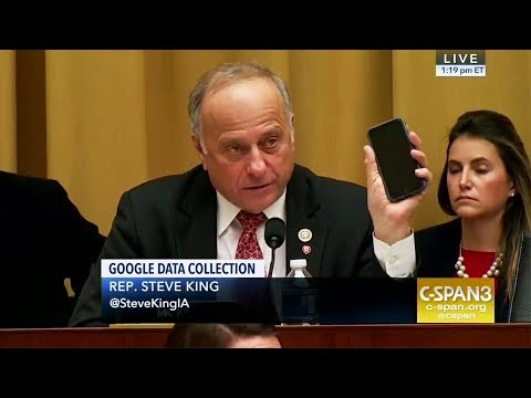 Lunatic Republican Demands iPhone Answers...from Google CEO?!
