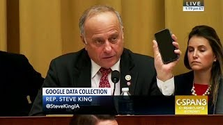 Lunatic Republican Demands iPhone Answers...from Google CEO!
