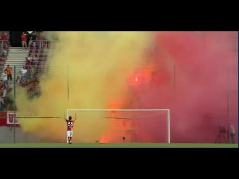 Galatasaray Udinese hazırlık maçı 25.07.2015 Maç yarıda kaldı