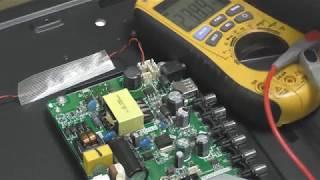 ремонт телевизора akira 32led38p нет подсветки, замена всех светодиодов другой модели