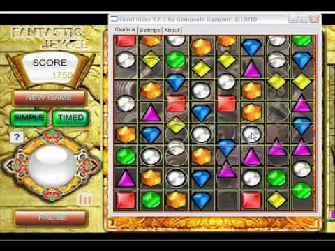 GemFinder V2.0 (cheat jewels games)