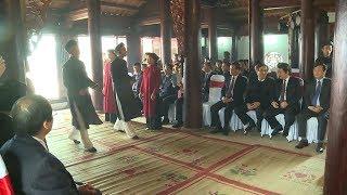 Lễ báo công hát Xoan được UNESCO công nhận là Di sản văn hóa phi vật thể đại diện của nhân loại