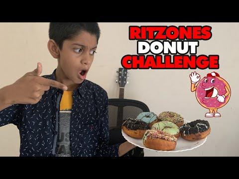 Donut Eating Challenge | Ritzones