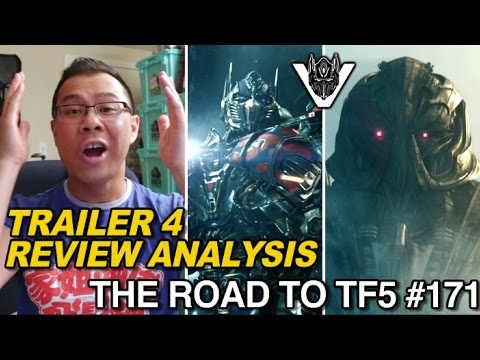 TRAILER REVIEW - Transformers TLK International Trailer 4 - [THE ROAD TO TF5 #171]