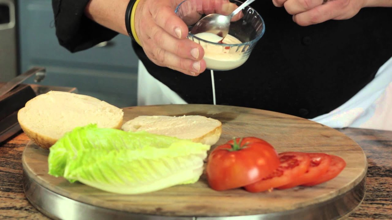 How to Make a Frozen Burger Taste Good : Making Meals Delicious