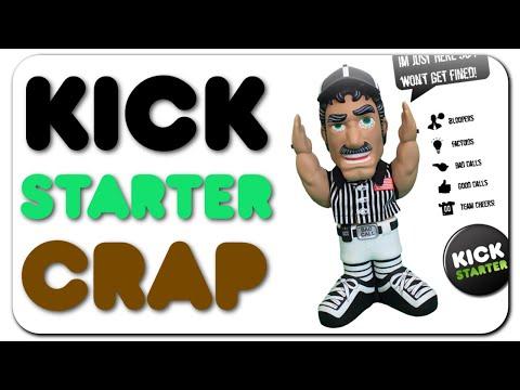 Kickstarter Crap - Bubble hat & Referee Ralph