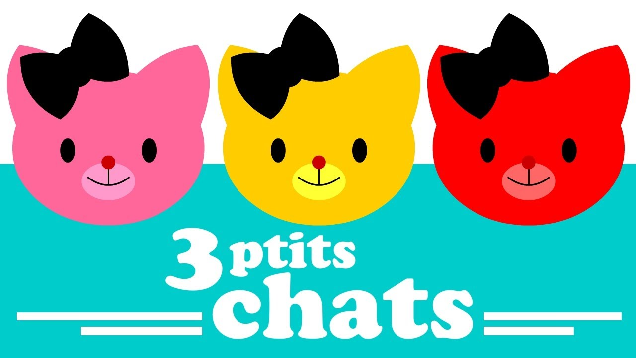 3 petits chats chapeau de paille comptine pour b b. Black Bedroom Furniture Sets. Home Design Ideas