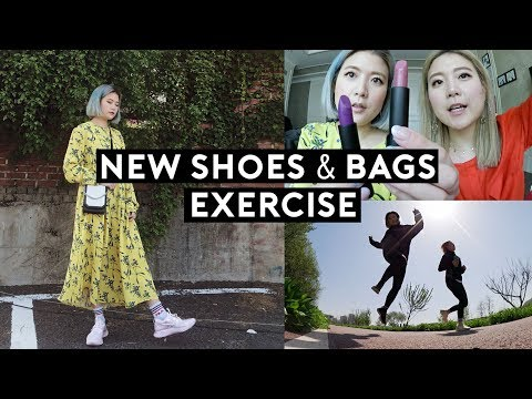 Our Daily Spring Makeup, New Sick Shoes & Bags, Exercise | DTV #101