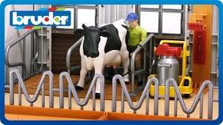 "Bruder Toys 62621 Cow Barn ""Breaking Out Of the Box"""