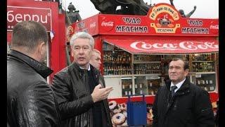 Торговые палатки в Москве сносить не будут