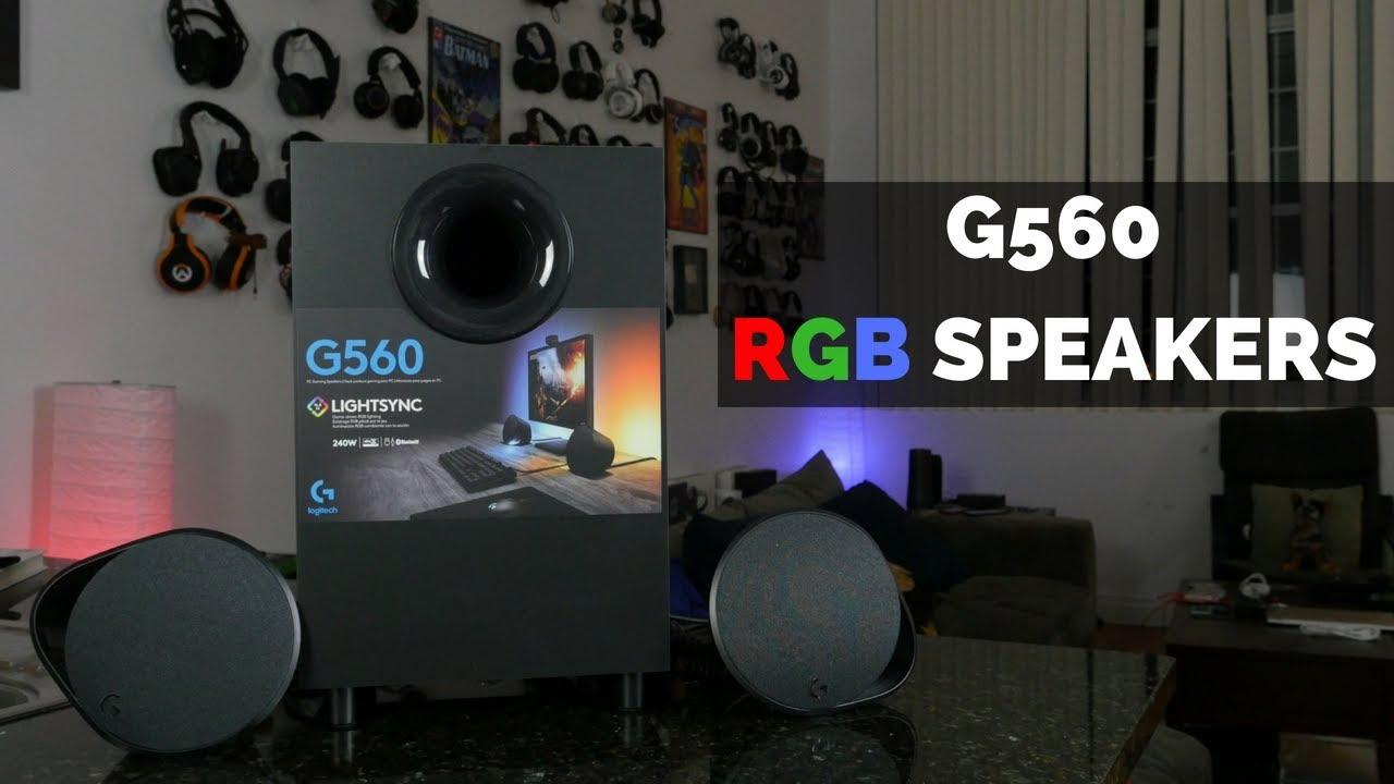 Logitech G560:Best Gaming Speakers