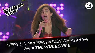 The Voice Chile | Ariana Riffo - Like a Feather