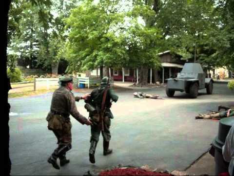 WWII Reenactment   Battle Highlights   Rockome Gardens (June 30, 2012)