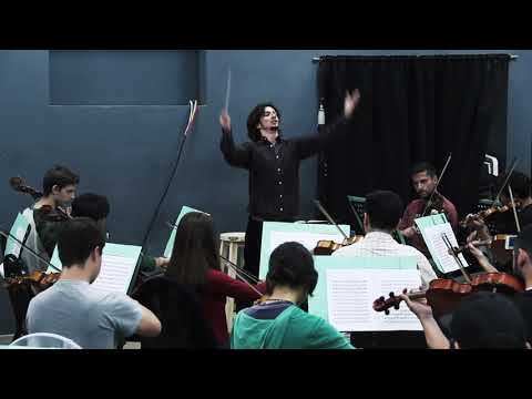 Dvořák Symphony No 9  New World  Excerpt from 4th movement. Facundo E. Sacco, Conductor.