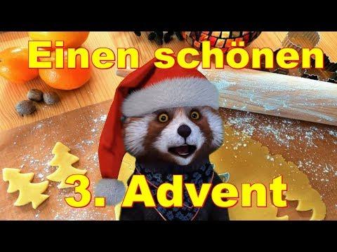 🎄 Schönen 3. Advent 🎄 Fröhliche Weihnachten 🎅 Merry Christmas 🎅 🎄 Alle Jahre wieder 🎄 FaceRig Bär 🎄