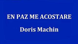 EN PAZ ME ACOSTARE     Doris Machin