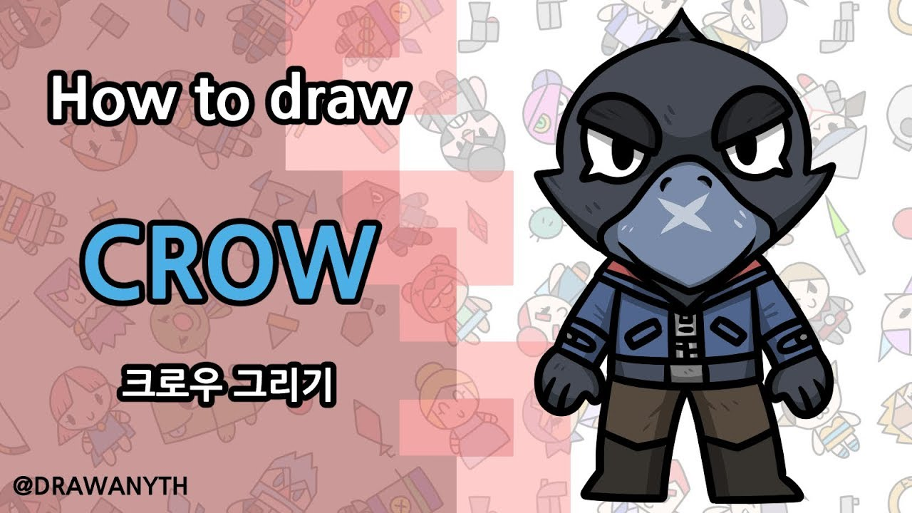 Download How To Draw Crow In Brawl Stars Easy   COLPOST