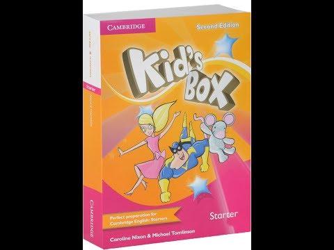 Kid's box starter song DVD karaoke