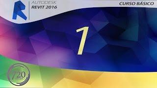 Curso Básico Revit 2016 Parte 1 - Tutorial Para Principiantes - En Español