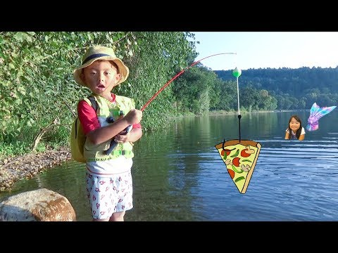 Funny Fishing Adventure With Ivan And Mermaid