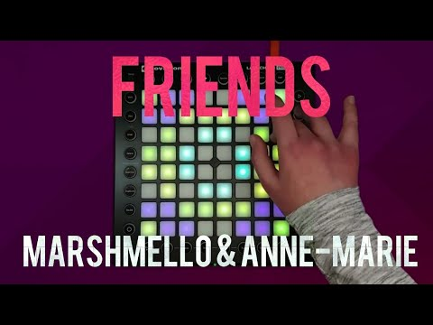 Marshmello & Anne-Marie - FRIENDS // Launchpad Pro Cover