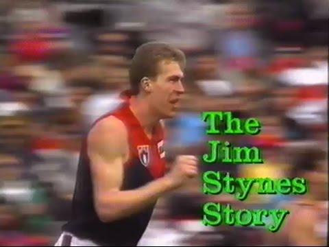 """Dublin's Jim"" - Jim Stynes 1991 Australian Football Video"