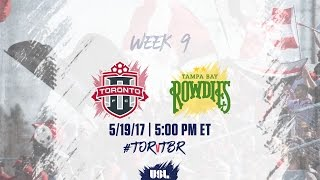 Toronto FC USL vs Tampa Bay Rowdies full match