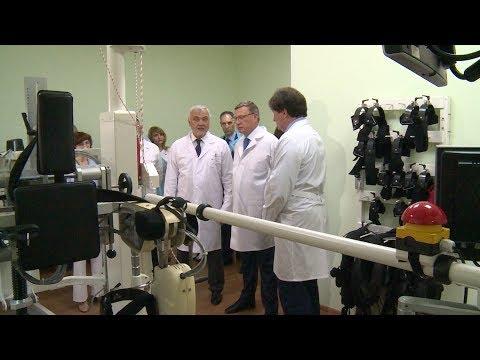 Александр Бурков и Владимир Уйба посетили Западно-Сибирский медицинский центр ФМБА