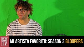 Mi Artista Favorito: Bloopers (season 3)