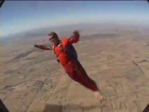 Ash & Jon World Championship Freestyle Skydiving