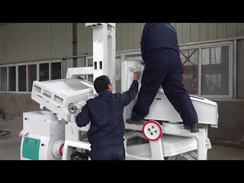 SMALL RICE MILL | HOW TO INSTALL A COMBINED RICE MILLING MACHINE