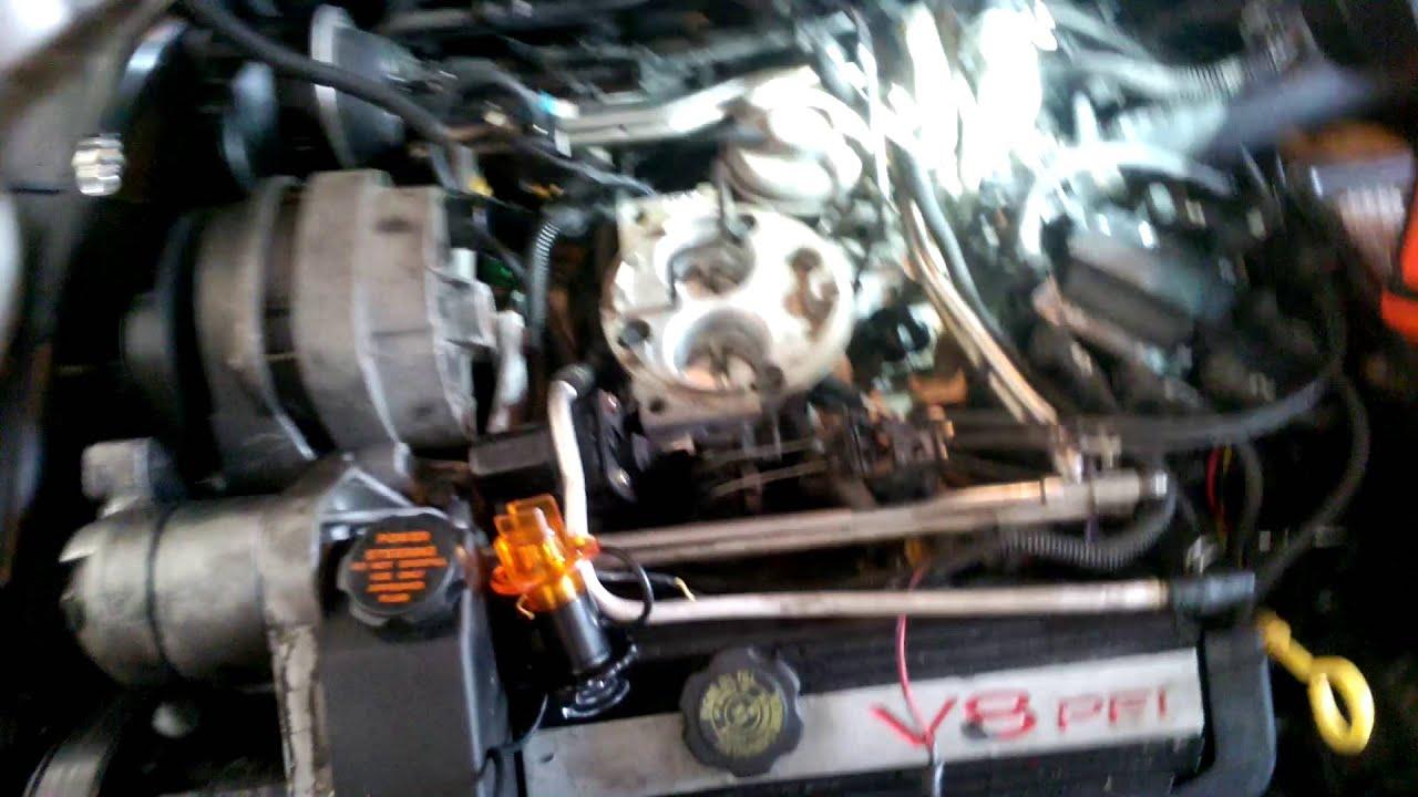 medium resolution of 92 4 9 cadillac deville engine miss testing fuel injector signal cadillac northstar engine diagram on cadillac northstar fuel line