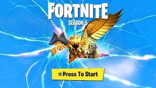 *NEW* SEASON 5 CRACK IN THE SKY HAS OPENED! (Fortnite Season 5 ENDING)