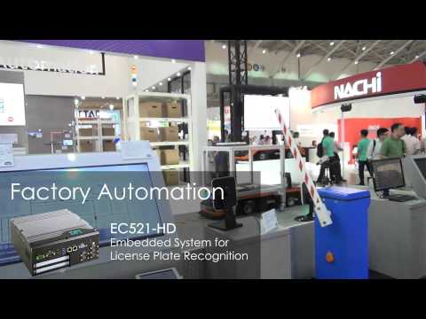 DFI Co-Exhibited with Qisda (BenQ) at Taipei Int'l Industrial Automation Exhibition