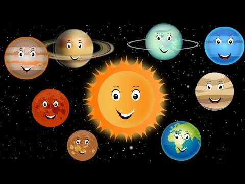 Planets for kids - solar system for kids