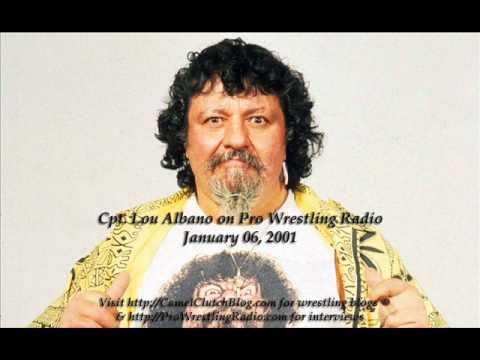 Cpt. Lou Albano Interview on Pro Wrestling Radio