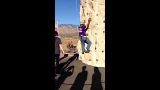Rock climbing fail. Thumbnail