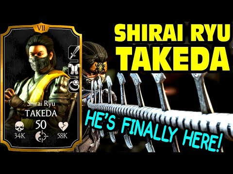 MKX Mobile 1.14 Update. Shirai Ryu Takeda. Gameplay + Review. KILLER X-RAY. Amazing Team Player!!!