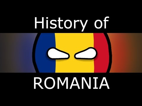 History of Romania in COUNTRYBALLS