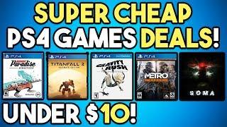 10 CHEAP PS4 Games UNDER $10 NOW! - PSN Critics' Choice Sale Deals