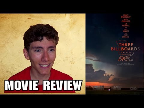 Three Billboards Outside Ebbing, Missouri [Dark Comedy Review]