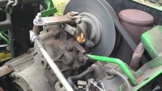 2001 John Deere Gator 4x2 engine and transmission