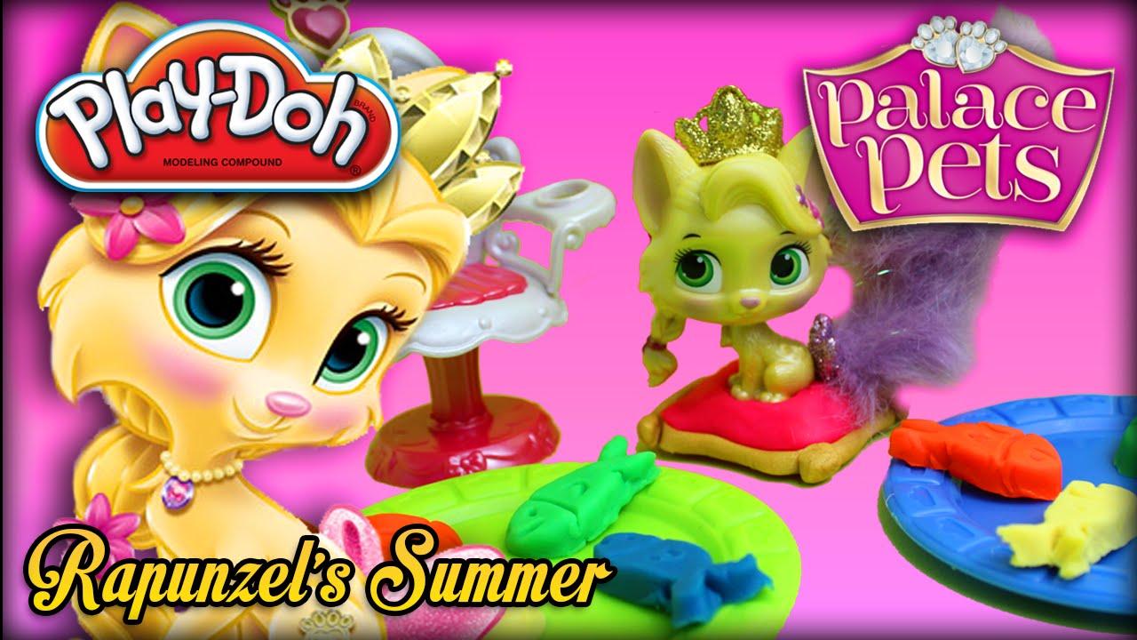 PlayDoh Disney Princess Palace Pets Rapunzels Summer Pet