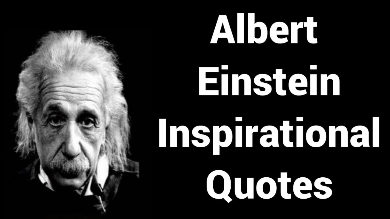 Albert Einstein Top Inspirational Quotes In English 05 Shrevars