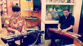 Mere Sapnoki Rani Kab Aayegi Tu Instrumental Cover By Pramit Das & Pranab Das-Film Aradhana 1969
