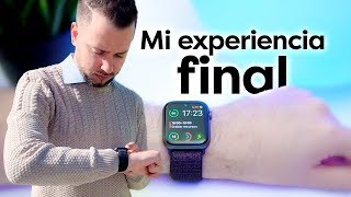 Mi experiencia final con el Apple Watch Series 4